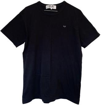 Play Comme Des Garã§Ons Play Comme Des GarAons Black Cotton T-shirts