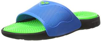 Arena Adults Unisex Badesandale Marco X Grip Beach & Pool Shoes, Multicolour (Solid_Lime,Turquoise 37)