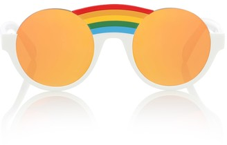 Stella McCartney Rainbow round sunglasses