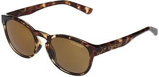 Tifosi Optics Svago (Crystal Vapor Frame Smoke Yellow Lens) Sport Sunglasses