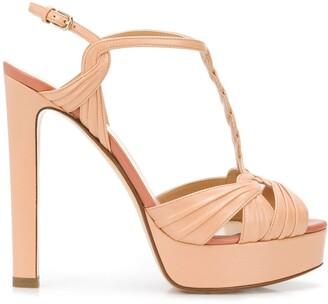 Francesco Russo strappy T-bar sandals