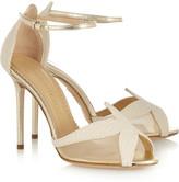 Charlotte Olympia Sandrine bead-embellished leather sandals