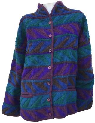 Missoni Purple Wool Knitwear for Women Vintage