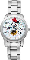 "Disney's Minnie Mouse ""Rock the Dots"" Women's Stainless Steel Watch"