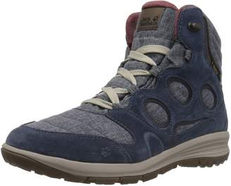 Jack Wolfskin Women's Vancouver Texapore MID W Fashion Boot Night Blue 5.5 D US