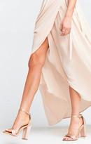 MUMU Steve Madden ~ Carrson Heels ~ Blush Satin