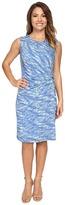 Nic+Zoe Petite Water Waves Twist Dress