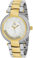 Jivago Womens Celebrate Two-Tone & Silver Bracelet Watch