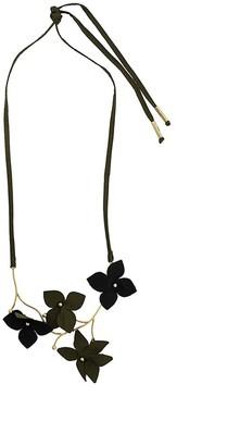 Marni Flora foliate necklace