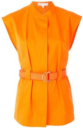 Nk Belted Sleeveless Jacket