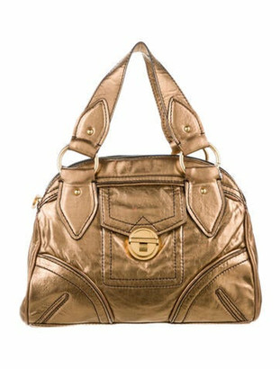Marc by Marc Jacobs Leather Handle Bag Brown