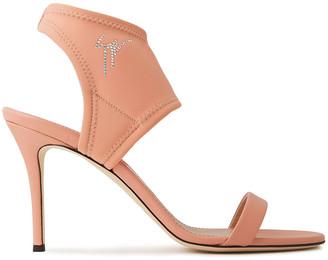 Giuseppe Zanotti Crystal-embellished Neoprene Sandals