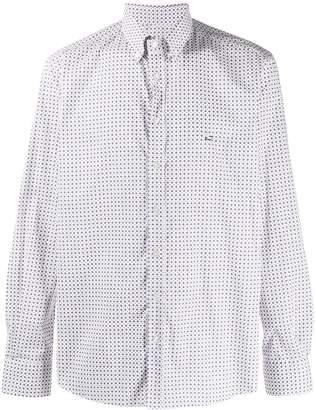 Etro Long Sleeve Checked Shirt