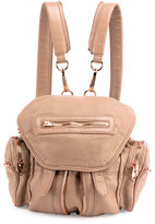 Alexander Wang Mini Marti Leather Backpack, Latte/Rose Gold