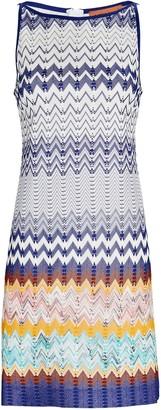 Missoni Chevron Knit Shift Dress