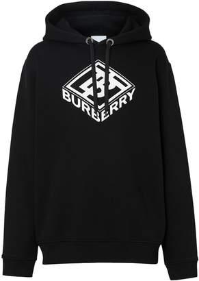 Burberry Logo Cotton Hoodie