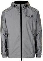Nicce Silver Lightweight Jacket