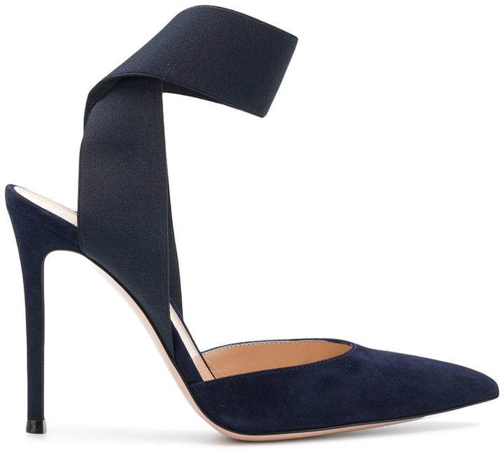 Gianvito Rossi wrap strap pointed pumps
