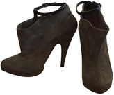 Givenchy Grey Suede Ankle boots