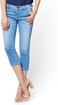 New York & Co. Soho Jeans - Cropped Legging - Heartbreaker Blue Wash