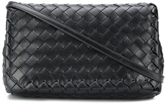 Bottega Veneta Intrecciato Weave Crossbody Bag
