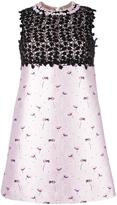 Giambattista Valli floral print shift dress - women - Silk/Polyamide/Polyester - 42