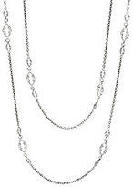 """Scott Kay Sterling Bolo Link 72"""" Chain Necklace"""