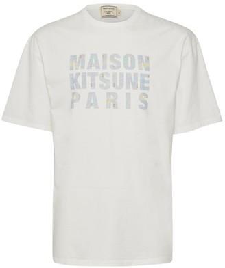 MAISON KITSUNÉ Hologram t-shirt