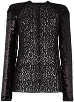 Giamba sequined longsleeved blouse