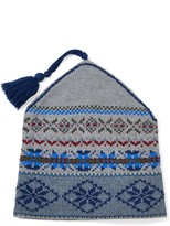 J.Mclaughlin Cypress Knitted Hat in Fairisle