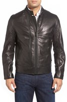 Andrew Marc Windsor Leather Racer Jacket
