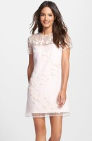 Ted Baker Women's 'Findon' Embellished Silk Organza Dress