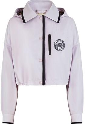 Fendi x Joshua Vides logo patch hooded jacket