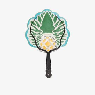 Pubumésu Multicoloured Pineapple small fan