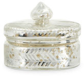 Twos Company Two'S Company Oval Vintage Trinket Box- Antiqued Silver