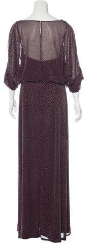 Jenny Packham Beaded Silk Gown w/ Tags