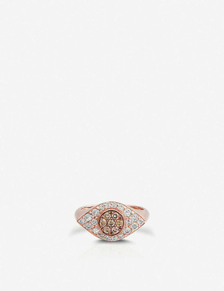The Alkemistry x Carbon and Hyde Drishti 14ct rose-gold and diamond ring