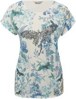 M&Co Embellished floral top
