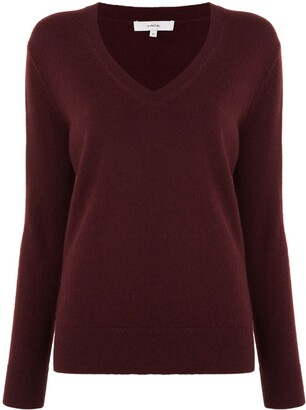 Vince Rib-Trimmed Cotton Jumper