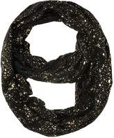 Honeystore Women's Gold Splashed Infinity Loop Scarf Shawl Circle Casual Scarves