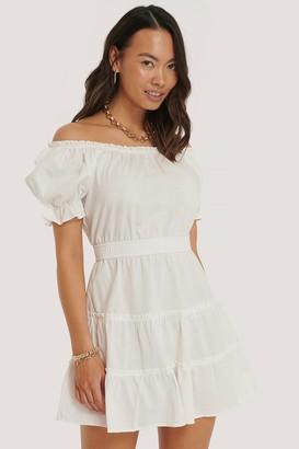 NA-KD Off Shoulder Mini Dress