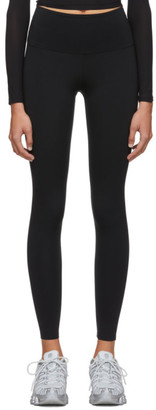 Wone Black Nylon Leggings