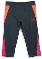 adidas Girls 7-16 Colorblock Capri Pants