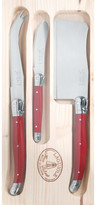 Jean Dubost Le Thiers Laguiole by Raffine Cheese Set with Cleaver 3-piece