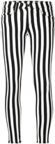 Rag & Bone Jean - striped stretch cropped trousers - women - Cotton/Spandex/Elastane/Tencel - 25