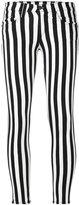 Rag & Bone Jean striped stretch cropped trousers
