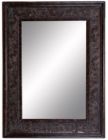 Antiqued Beveled Wall Mirror