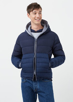 MANGO MAN Mixed Quilted Jacket
