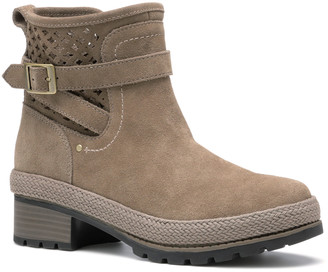 The Original Muck Boot Company Women's Casual boots Taupe - Gray Liberty Suede Ankle Boot - Women