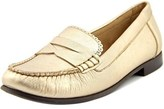 Jack Rogers Quinn Round Toe Leather Loafer.